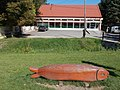 Wooden trout bench, Szilvásvárad, 2016 Hungary.jpg