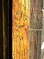 Woodworm holes, St John the Baptist, Chirton - geograph.org.uk - 1742216.jpg