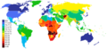 World Life Expectancy 2011 Estimates Map.png