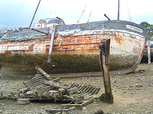 Ship graveyard - Wrecks