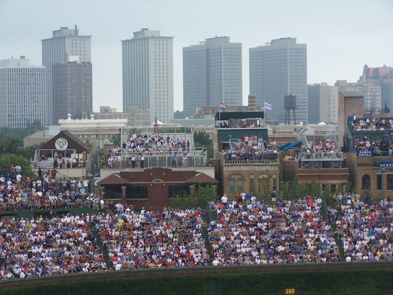 Wrigley Field and Wrigley Rooftops
