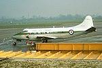 XM296 DH Heron Royal Navy BHX 04-01-78 (23694904818).jpg