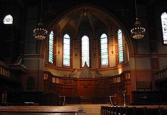Russell Sturgis - Image: Yale Battell Chapel