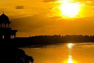Yamuna - River Yamuna near Agra