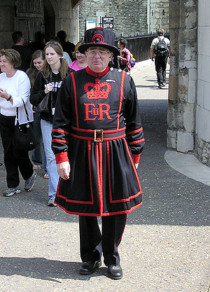 Yeoman - A Yeoman Warder at the Tower of London in England