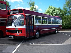 Yesterbus bus 6169 Leyland National CKB 166X Metrocentre rally 2009 pic 1.JPG