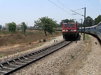 Duronto Express - Yeswanthapur-Howrah Duronto Express leaving Yeswanthapur Railway Station