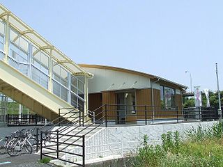 Yonago Airport Station Railway station in Sakaminato, Tottori Prefecture, Japan