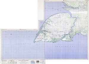 Yos Sudarso Island - 1:250,000 map