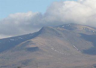 Yr Elen Mountain in Wales