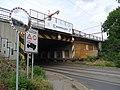 Záběhlice, Průběžná, jižní železniční most, od jihu (01).jpg