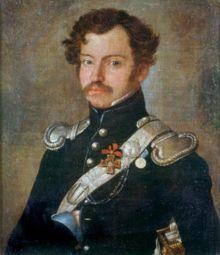 Портрет А.А. Захарьина с орденом Св. Владимира 4-й ст. с бантом.