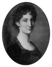 Wilhelmine von Zenge, Kleists Verlobte, anonyme Miniatur (um 1800) (Quelle: Wikimedia)