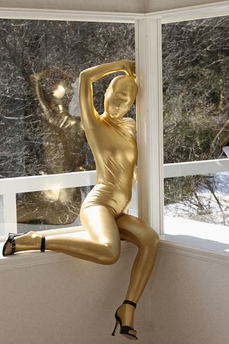 Total enclosure fetishism - Total enclosure zentai suit