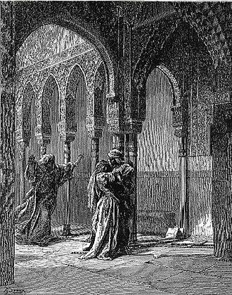Zoraida di Granata - Gustave Doré: Zoraida falls in the Captive's arms