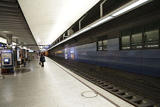 Zürich HB SZU railway station