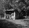 """Žbeunik"" (čebelnjak) v Padežu (Kozjane) 1955.jpg"