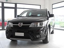""" 12 - ITALY - Fiat Freemont black dealership.JPG"