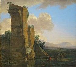 Jan Asselijn: Italian Landscape