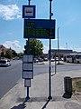 'Pápa, autóbusz-állomás' bus stop, 2020 Pápa.jpg