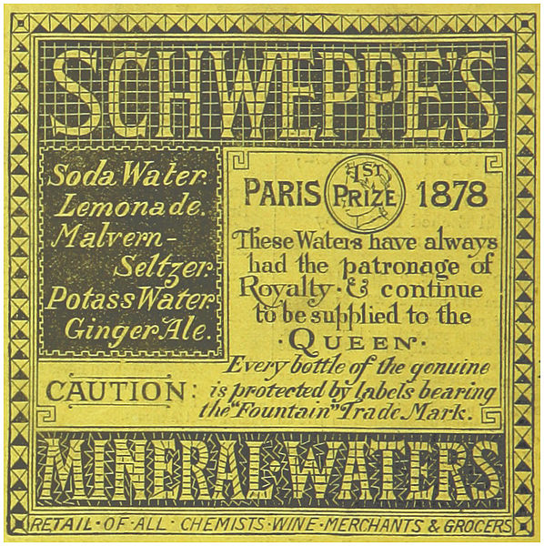 File:(1883) SCHWEPPES MINERAL-WATERS.jpg