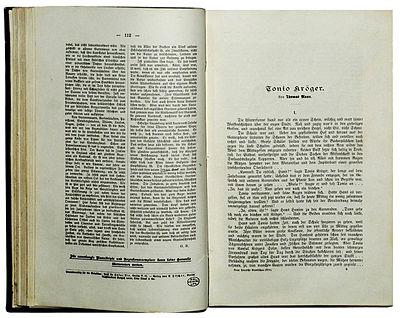 Picture of a book: Tonio Kröger