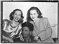 (Portrait of Imogene Coca, Mary Lou Williams, and Ann Hathaway, between 1938 and 1948) (LOC) (5475990197).jpg