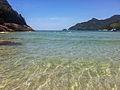 Águas cristalinas na Praia de Martim de Sá.jpg
