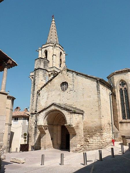 Notre-Dame-de-Grâce church in Barbentane, France.