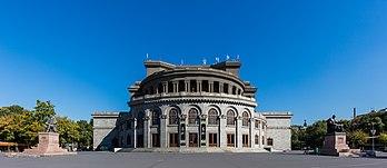 L'opéra d'Erevan (Arménie). (définition réelle 7619×3305)