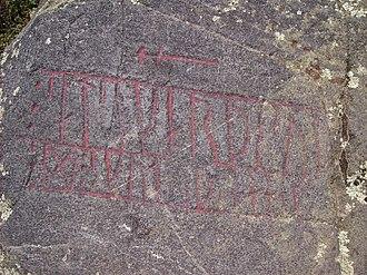 Östergötland Runic Inscription 43 - Inscription Ög 43 in Ingelstad, Östergötland, Sweden.