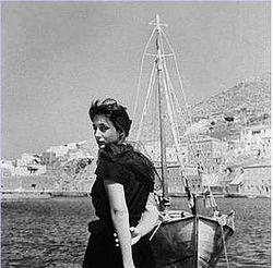 Η Έλλη Λαμπέτη σε φωτογραφία του Δημήτρη Παπαδήμου