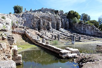 Oiniades - The ancient shipyard