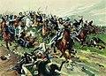 Атака у Клястиц 20 июля 1812 года (картина Н.С. Самокиша).jpg
