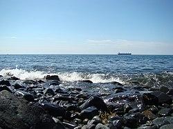 Берег японского моря.JPG