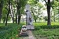 Братська могила радянських воїнів, смт Базалія.jpg