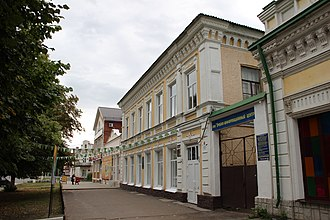 Voronezh Oblast - Image: Вид справа здания, где размещался госпиталь № 1604