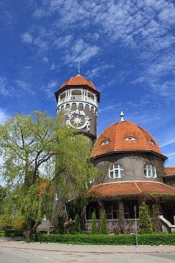 Водонапорная башня. Светлогорск Раушен (1908).JPG