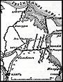 Карта № 1 к статье «Египетская экспедиция англичан 1882 года». Военная энциклопедия Сытина (Санкт-Петербург, 1911-1915).jpg