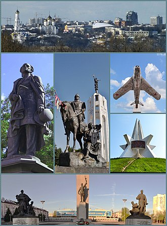 Bryansk - Collage of Bryansk