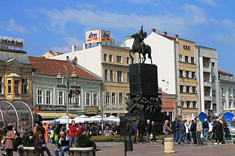 Niš - Niš main square.
