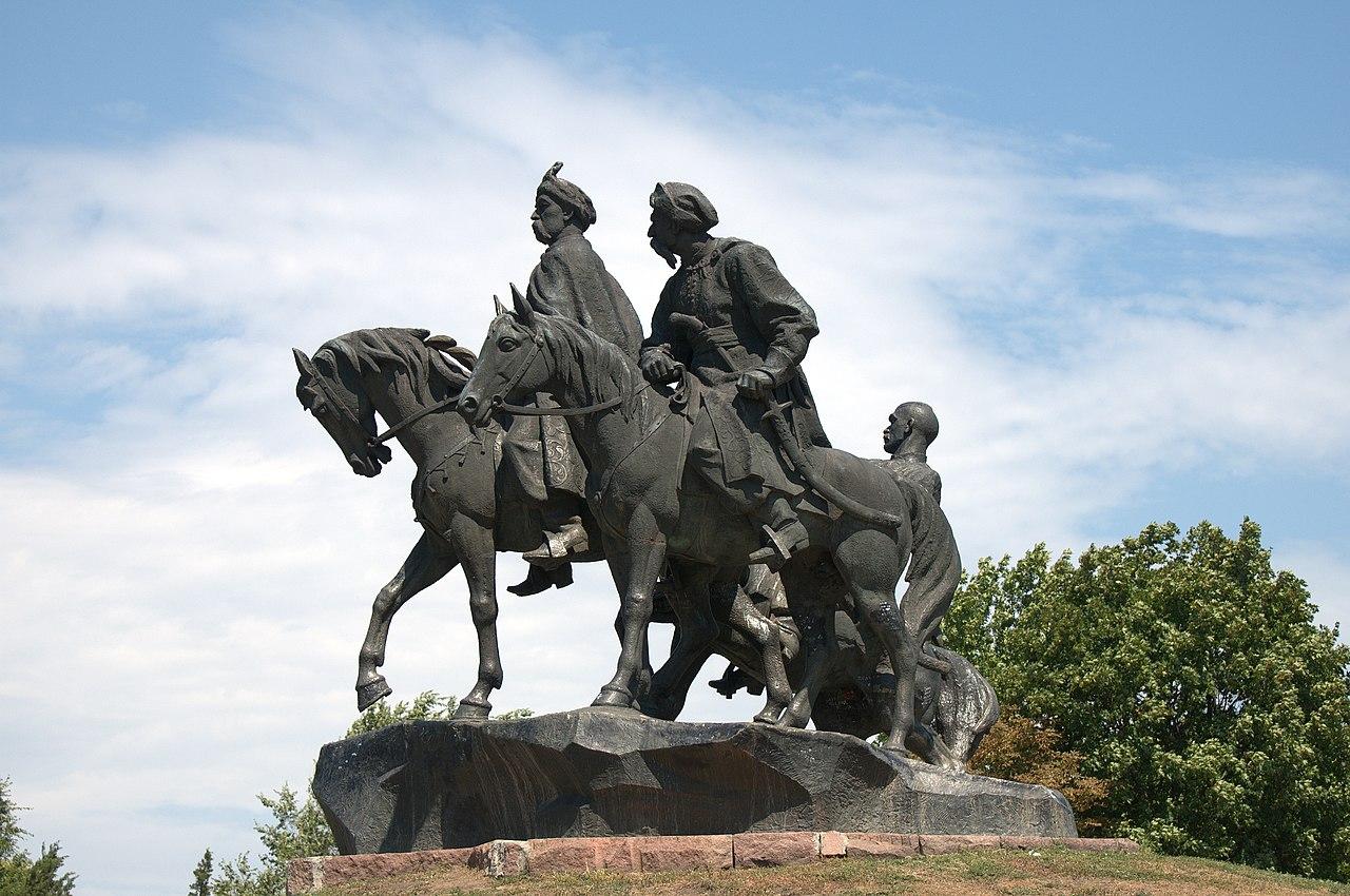 Памятник «Героям освободительной войны украинского народа 1648–1654 годов»