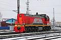ТЭМ18ДМ-1000, Россия, Пензенская область, станция Пенза-I (Trainpix 213339).jpg