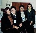 Төрөк ғалимәләре менән. Төркиә.2002. Г. Ситдиҡова, Ф. Хисамитдинова.jpg