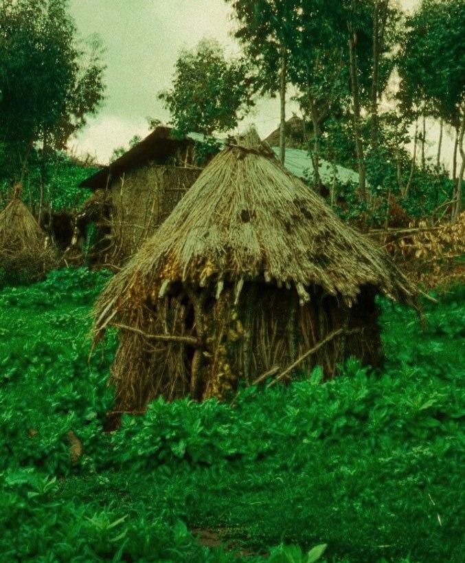 בקתת נידה בכפר אמבובר 1976