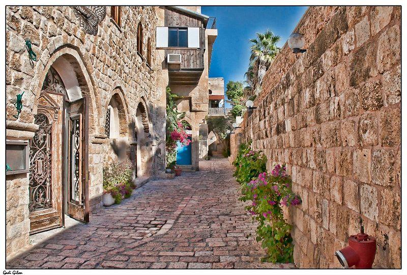 רחוב בין החומות