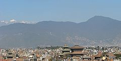 Skyline of Kathmandu Metropolitan City