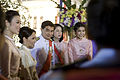 นายกรัฐมนตรีและภริยา ในนามรัฐบาลเป็นเจ้าภาพงานสโมสรสัน - Flickr - Abhisit Vejjajiva (46).jpg