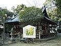 堺市美原区大保 広国神社拝殿 Front shrine of Hirokuni-jinja 2012.3.03 - panoramio.jpg