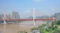 重庆 长江上的渡江大桥.jpg